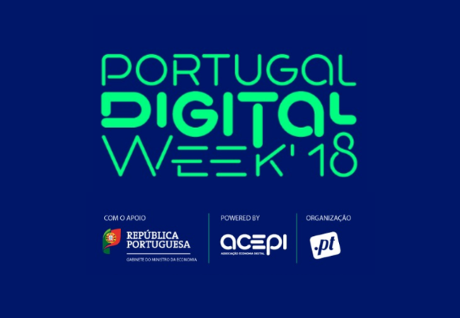 Portugal Digital Week - 21 a 25 de outubro