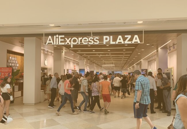 AliExpress opens a physical shop in Madrid