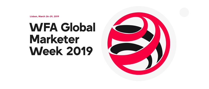 Global Marketer Week 2019 – 26th-29th March, Lisbon.