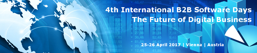 4th International B2B Software Days – 25th and 26th April, Austria.