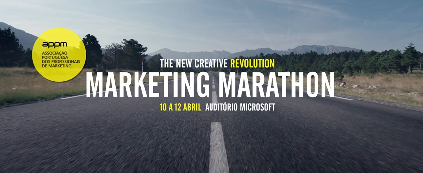 Marketing Marathon – 10 a 12 de abril, Lisboa.