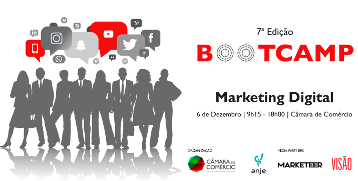 Digital Marketing Bootcamp – Lisbon, 6th December.